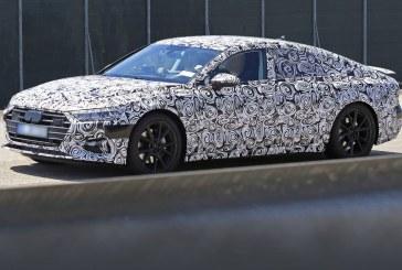 Spyshots de la future Audi A7 Sportback de 2018 – Une version électrique en préparation?