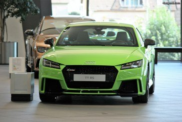 Audi TT RS Lime Green Audi exclusive