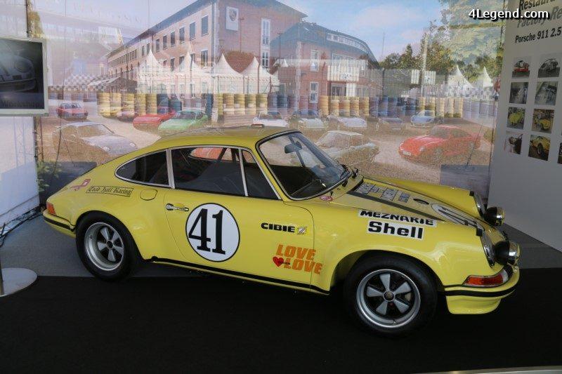 70 ans de sportives Porsche à Rétromobile