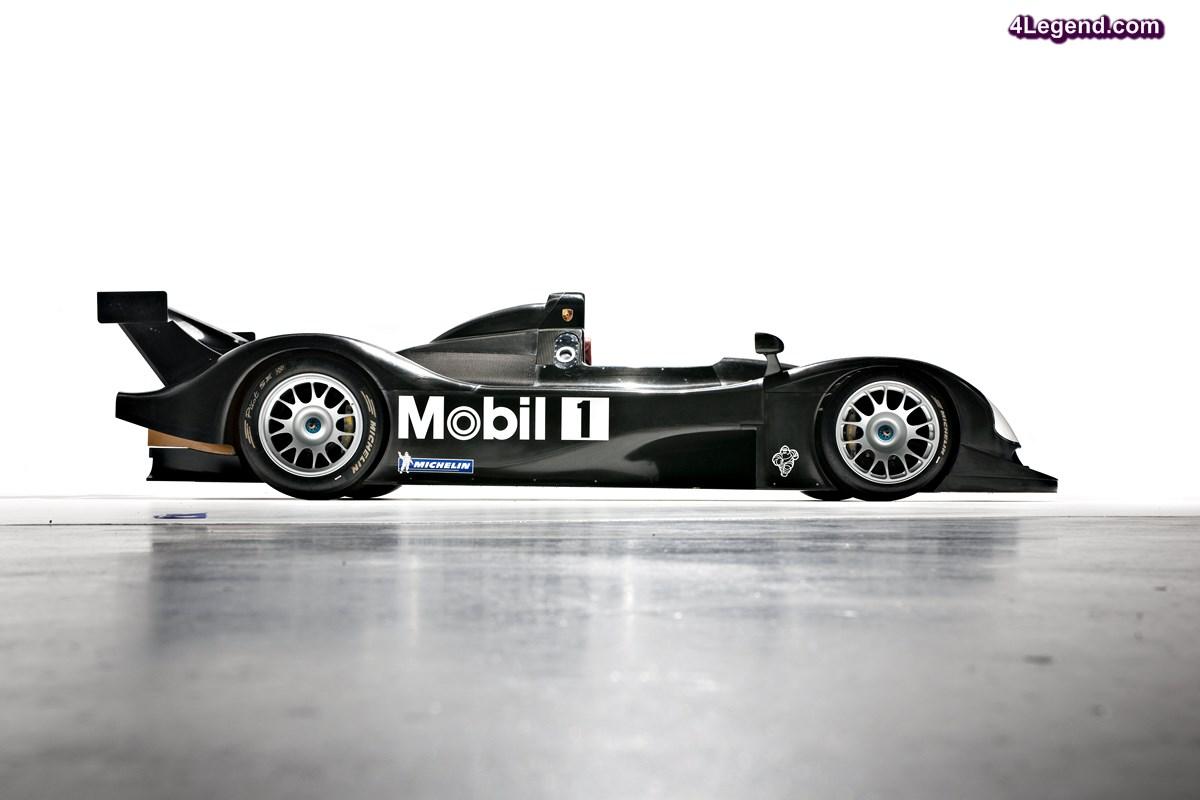 Porsche LMP 2000 à moteur V10 - La mystérieuse Porsche 9R3 qui a failli courir aux 24 Heures du Mans 2000