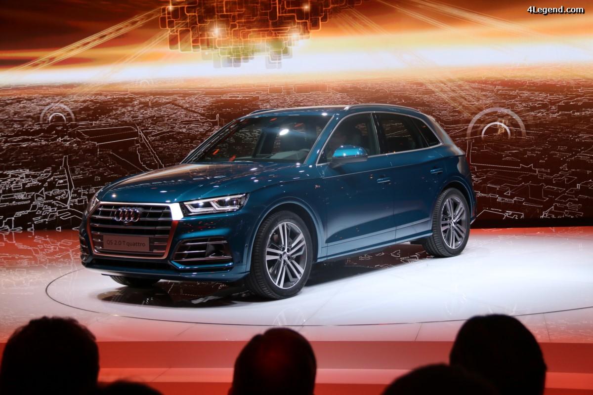 Paris 2016 - Nouvelle Audi Q5 : Charisme et polyvalence