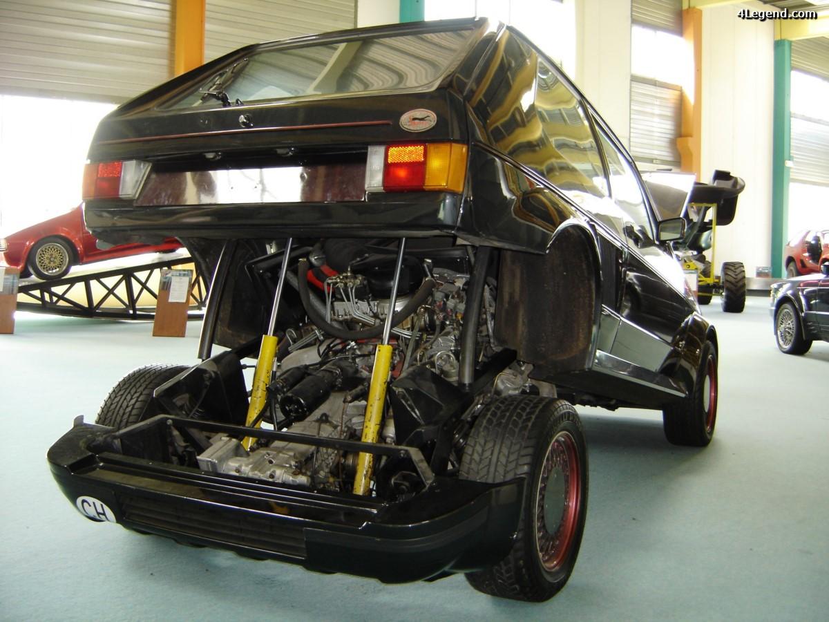 Volkswagen Golf Turbo Sbarro de 1983 - Moteur Porsche 911 Turbo de 300 ch