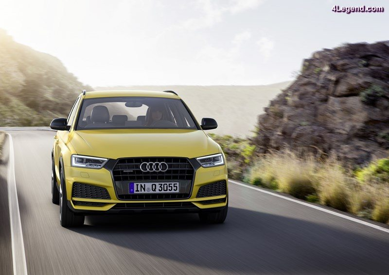 Audi Q3 2.0 TFSI Dynamic photo, Colour: Tukan Yellow