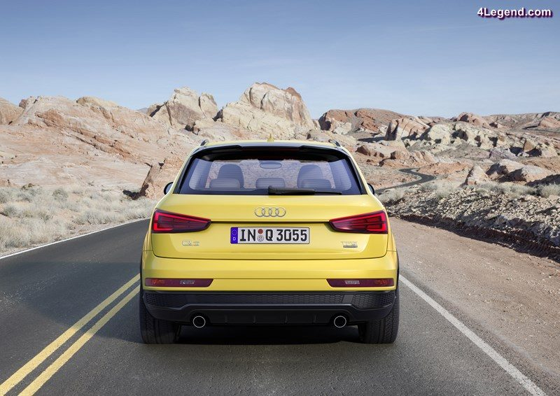 Audi Q3 2.0 TFSI Static photo, Colour: Tukan Yellow