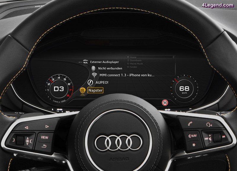 Audi TT Coupé Audi virtual cockpit