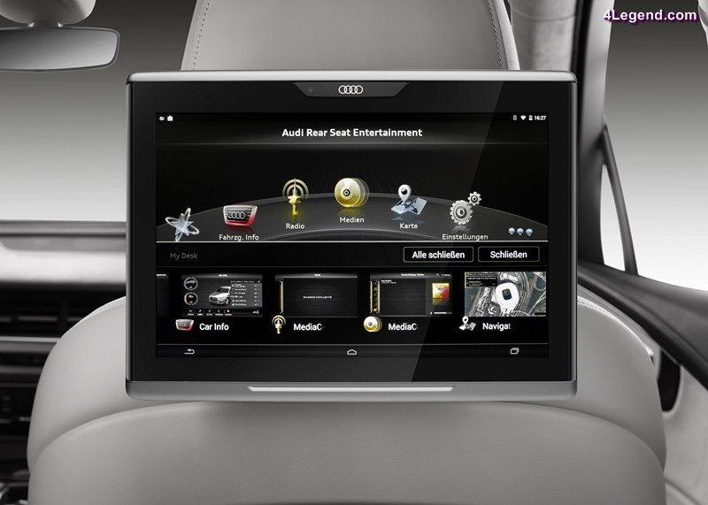 Audi tablet - main