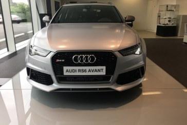 Audi RS 6 performance gris Floret mat Audi exclusive chez Audi Vélizy