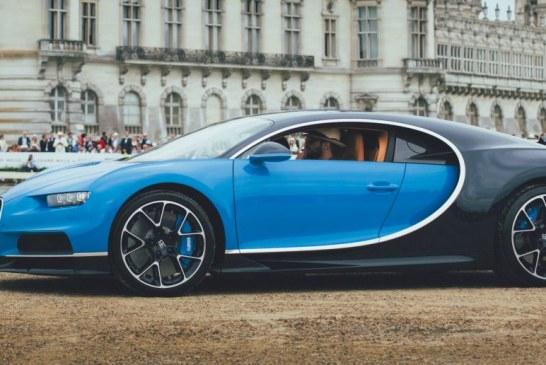 Bugatti a présenté la Chiron et la Vision GT au concours Chantilly Arts & Élégance Richard Mille 2016