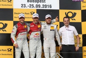 DTM – Un doublé pour Audi le dimanche à Budapest malgré un sérieux accrochage au départ