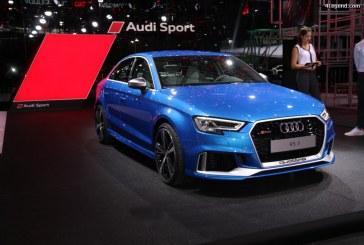 Paris 2016 – Audi RS 3 Berline – La plus sportive des compactes avec 400 ch