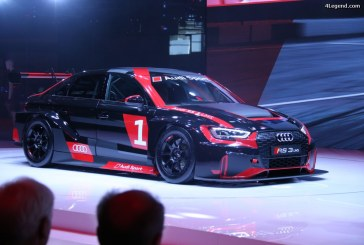Paris 2016 – Audi RS 3 LMS : Une version course de l'Audi RS 3