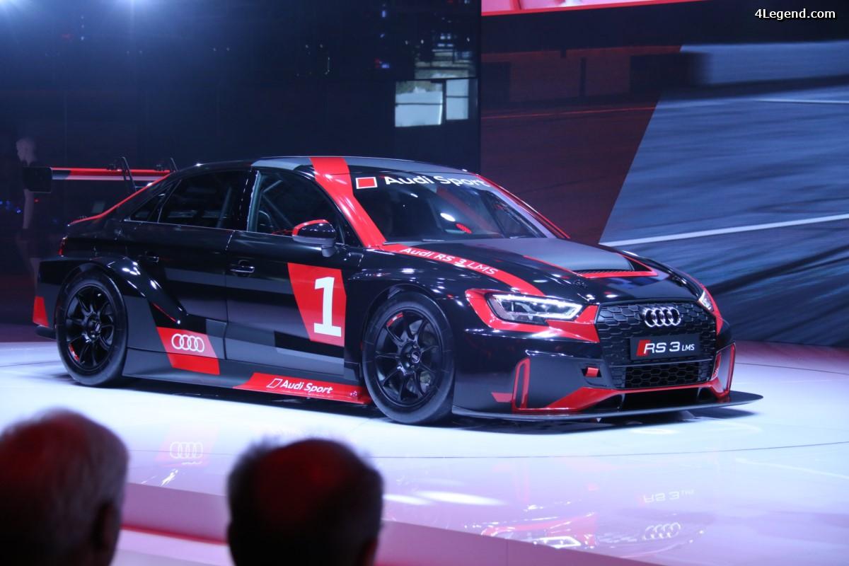 Paris 2016 - Audi RS 3 LMS : Une version course de l'Audi RS 3