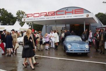 Goodwood Revival 2016 – Porsche fait un retour dans les années 50 et 60 et présente sa nouvelle Panamera