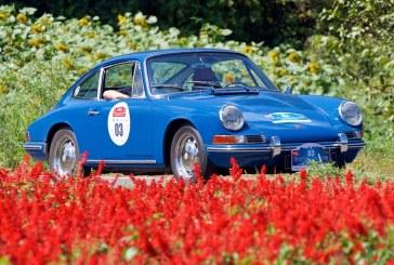 Le Porsche Museum a engagé deux Porsche 911 au Rallye classique en Chine