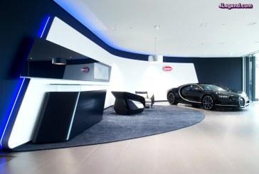 Bugatti Bruxelles ouvre son showroom réaménagé