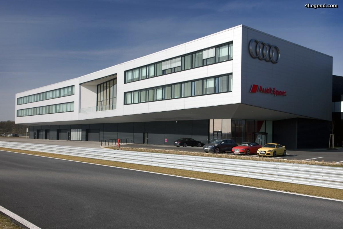 Visite exclusive des locaux d'Audi Sport à Neuburg