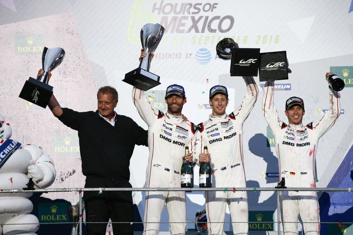 WEC - Victoire de la Porsche 919 Hybrid aux 6 heures de Mexico devant l'Audi R18
