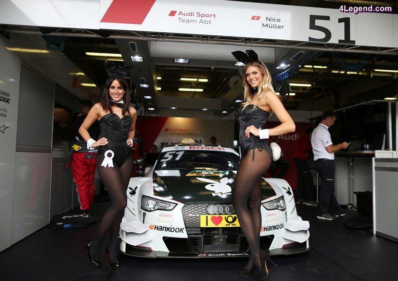 Playboy Audi Audi RS 5 DTM #51 (Audi Sport Team Abt), Nico Müller