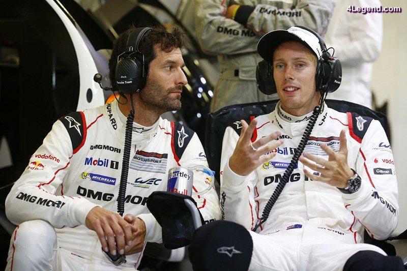 Porsche Team: Mark Webber, Brendon Hartley (l-r)