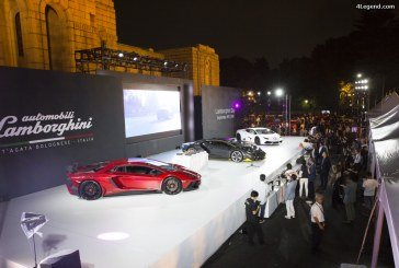 Lamborghini Day 2016 à Tokyo – Commémorations Lamborghini au Japon