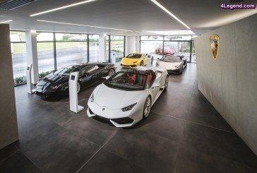 Lamborghini ouvre à Bristol la première concession au nouveau design
