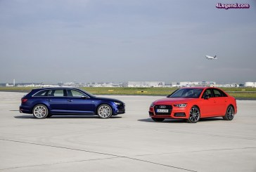 Ouverture des commandes des nouvelles Audi S4 Berline et Avant