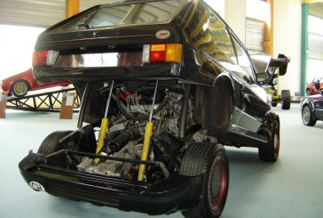 Volkswagen Golf Turbo Sbarro de 1983 – Moteur Porsche 911 Turbo de 300 ch