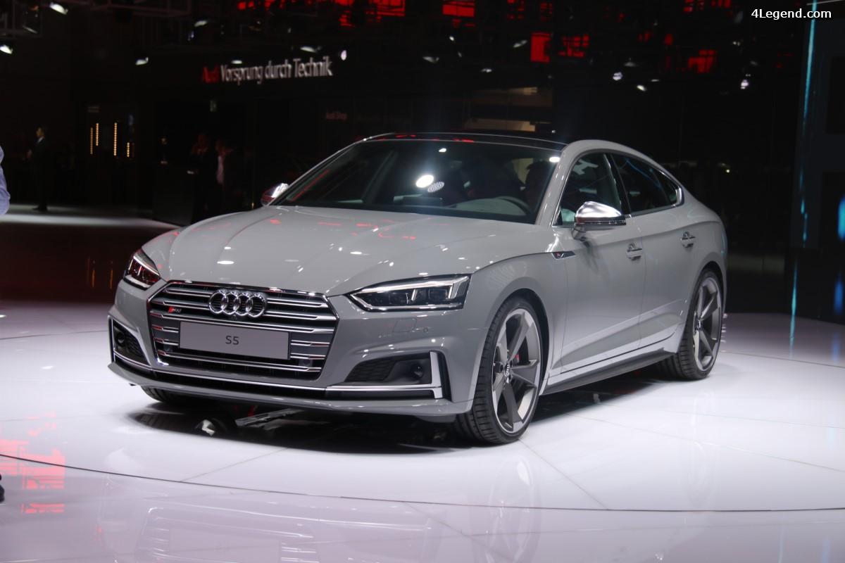 Paris 2016 - Première mondiale de l'Audi S5 Sportback