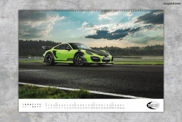 Le préparateur Porsche – TECHART – dévoile son calendrier 2017 : IDENTITY