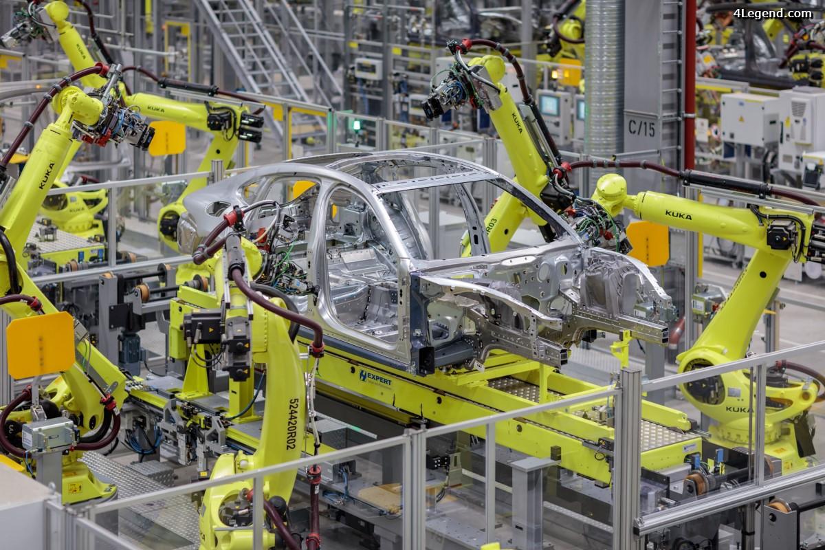 La nouvelle Porsche Panamera établit de nouvelles normes dans la production