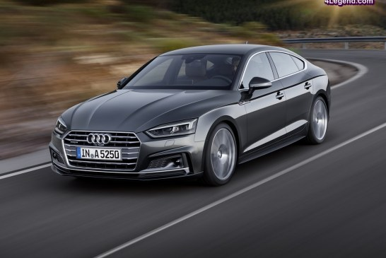Ouverture des commandes de la nouvelle Audi A5 Sportback
