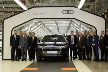 Ouverture d'une nouvelle usine Audi au Mexique afin de produire l'Audi Q5
