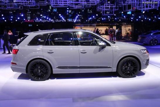 Paris 2016 – Audi SQ7 et son moteur V8 4.0 TDI