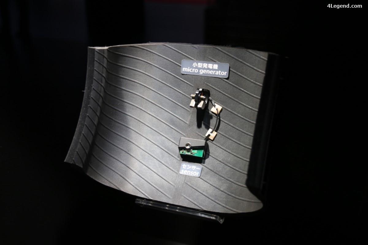 Paris 2016 - Bridgestone CAIS : Le pneu devient communiquant