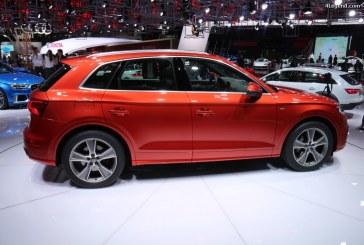 Paris 2016 – Détails des trois Audi Q5 exposées sur le stand Audi