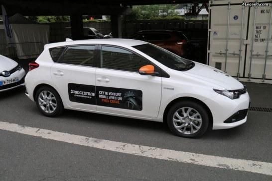 Paris 2016 – Essais des pneus été et hiver Bridgestone DriveGuard
