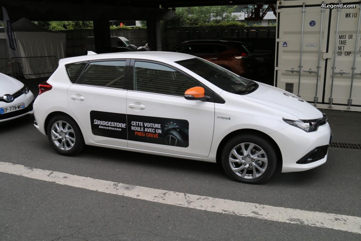 Paris 2016 - Essais des pneus été et hiver Bridgestone DriveGuard