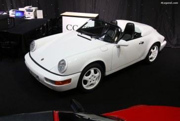 Paris 2016 – Porsche 911 Carrera 2 Speedster 3.6 Type 964 de 1994