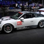 Paris 2016 – Première mondiale de la Porsche 911 GT3 Cup avec motorisation ultramoderne