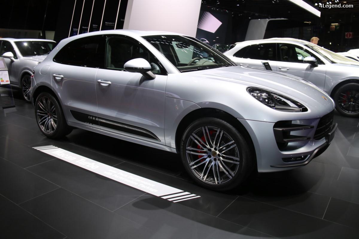Paris 2016 - Porsche Macan Turbo avec pack Performance : Le roi des SUV compacts