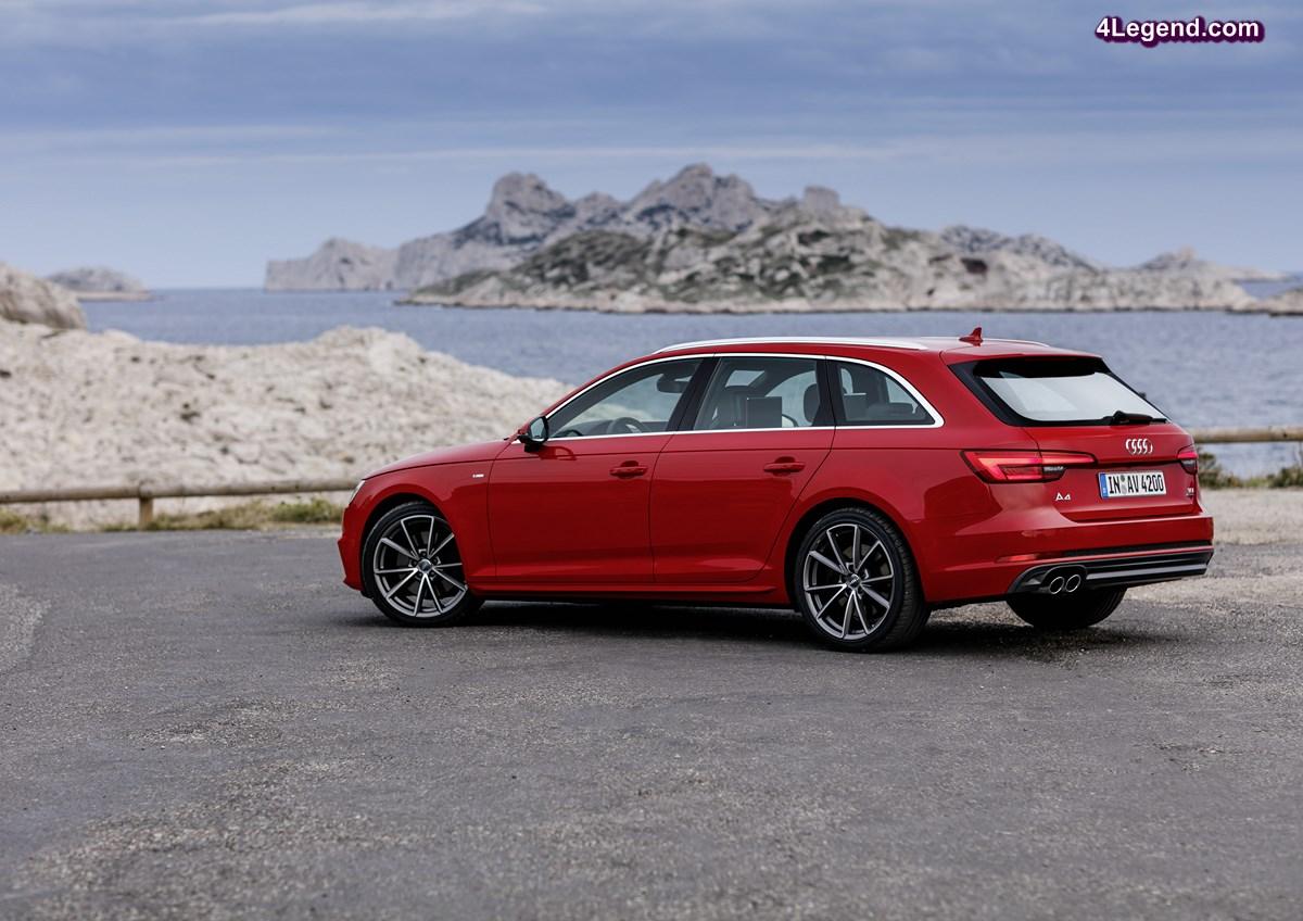 Augmentation des ventes de la nouvelle Audi A4 de plus de 20% en Europe en septembre 2016
