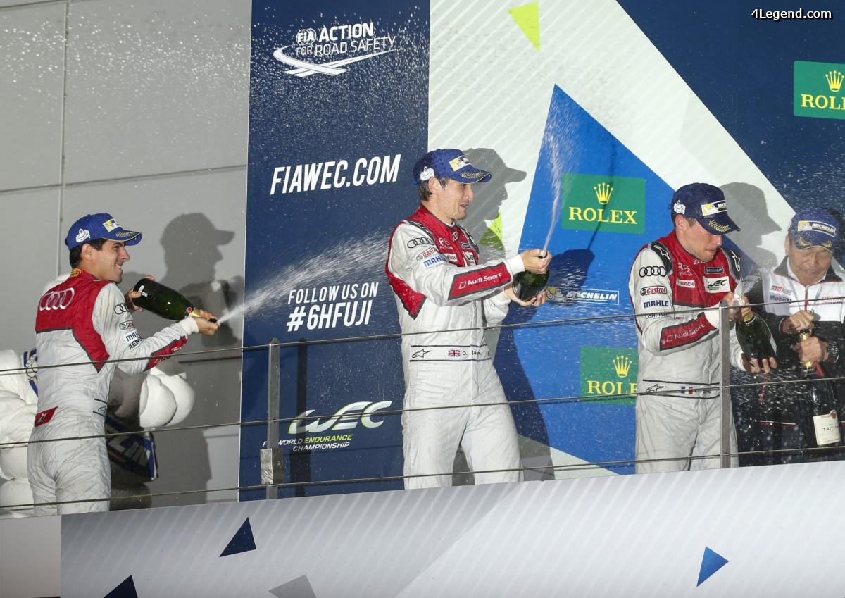 WEC - 2ème place pour Audi aux 6 Heures de Fuji derrière Toyota