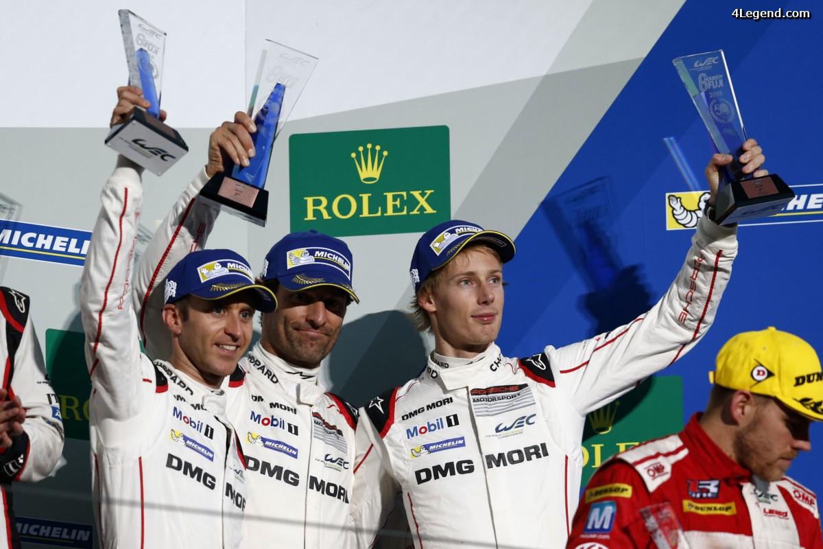WEC - 3ème place pour Porsche aux 6 Heures du Fuji