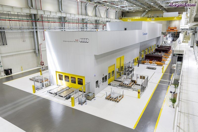 The press shop at the Audi plant in San José Chiapa is the most modern in North America with its servo XL press line.