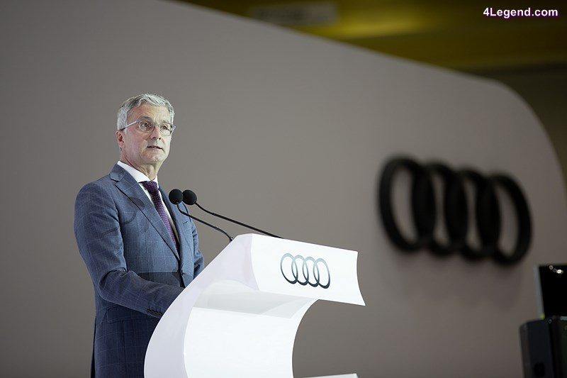 Audi Mexiko: Opening speech of Rupert Stadler during the plant inauguration in San José Chiapa. © AUDI AG