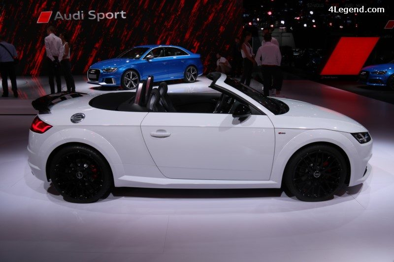 Paris 2016 Audi Tt S Line Competition Roadster Quattro