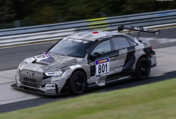 Débuts impressionnants de l'Audi RS 3 LMS au championnat VLN au Nürburgring