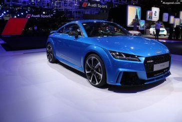 Paris 2016 – Nouvelle Audi TT RS Coupé by Audi Sport