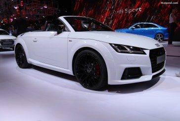 Paris 2016 – Audi TT S line competition Roadster quattro