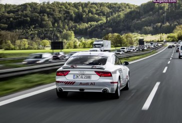 Audi participe au Digital Motorway Test Bed